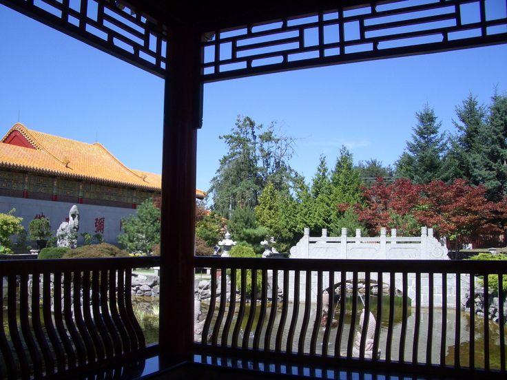 Garden Gazebo of the International Buddhist Society Temple