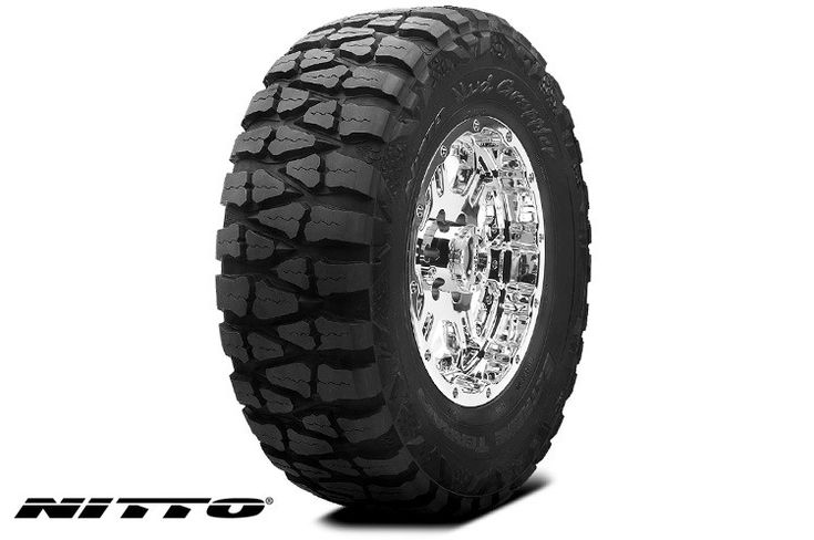 Nitto 33x12.50R-17LT, Mud Grappler Tire [N200-760] | Rough Country Suspension Systems®