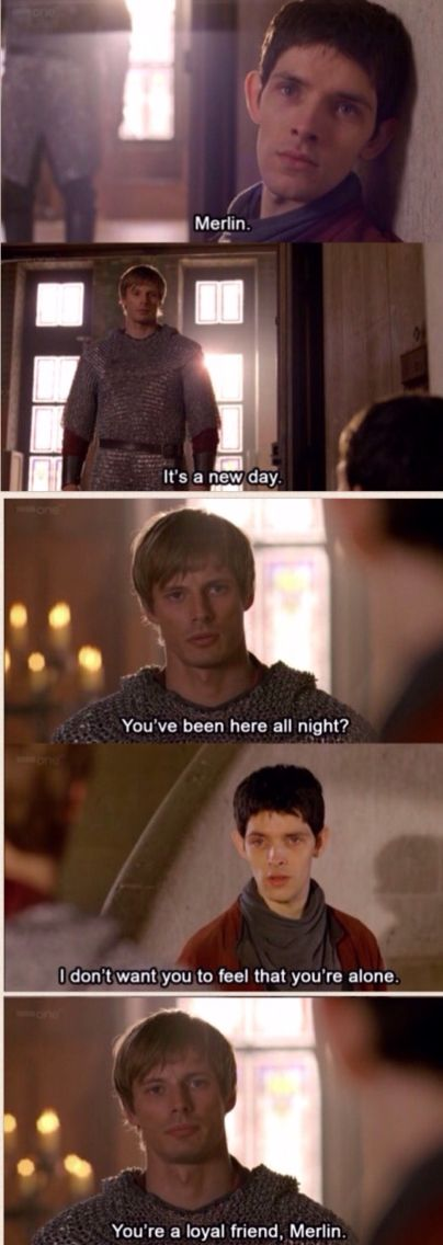 Merlin and Arthur. Merlin Season 4