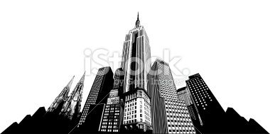 New York Skyline stock vector art 18879298 - iStock