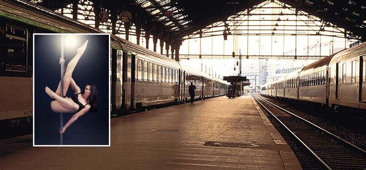 On connaissait le piano dans les gares censé détendre et divertir les usagers, dorénavant la SNCF a décidé d'y installer une barre de Pole Dance.