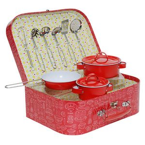 Vintage Kitchen Set - Red