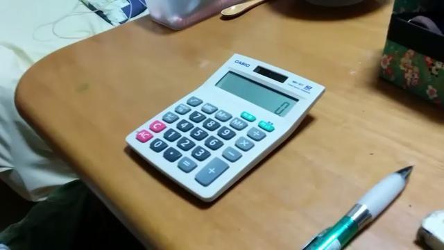 【知らなかった...】カシオ電卓で1,3,7,9,ACの同時押しをすると...驚きの裏ワザ