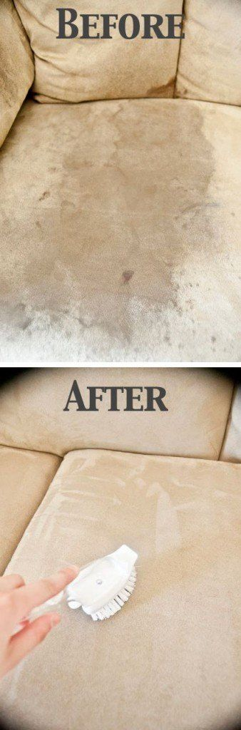 How To Clean A Microfiber Couch with ONE Ingredient