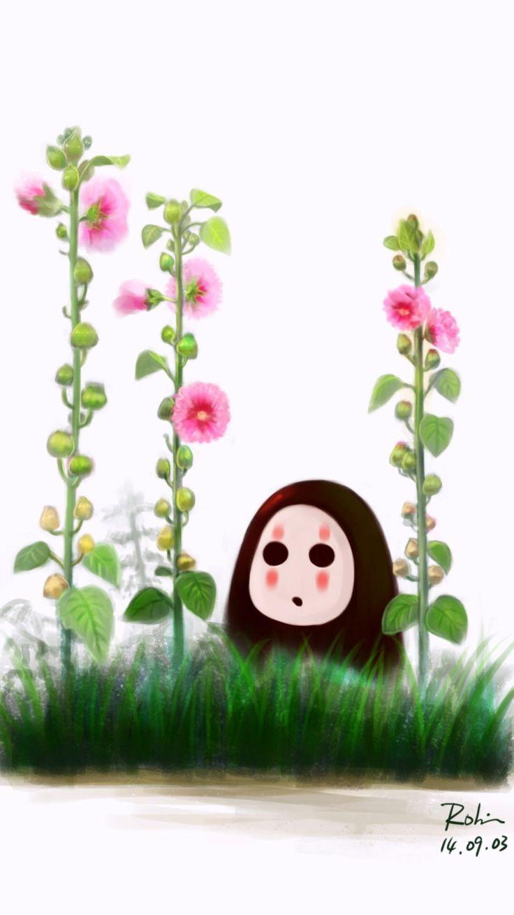 Kaonashi (No Face) spirited away