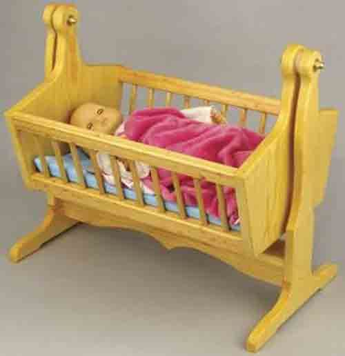 13 best doll cradle plans images on pinterest doll Wooden baby doll furniture