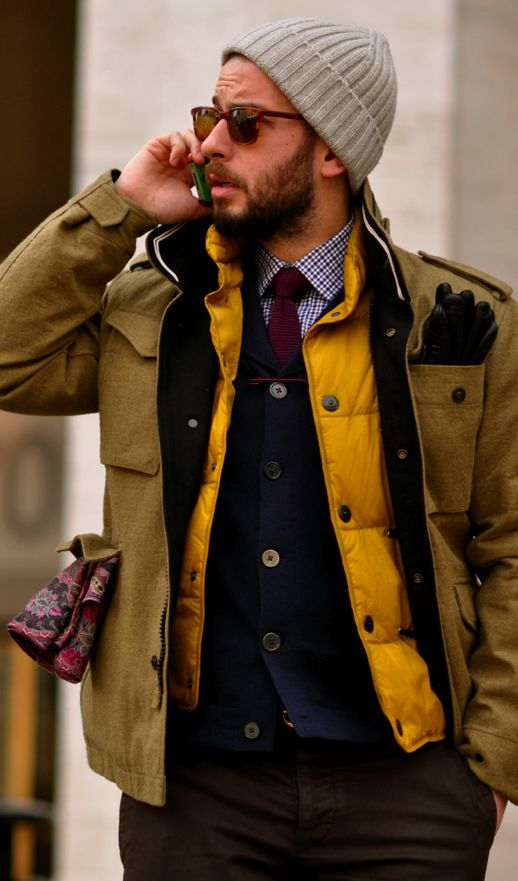 16 best Men's Style: Layers images on Pinterest   Menswear ...