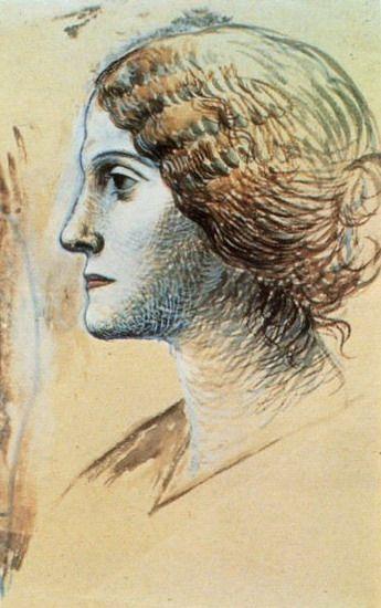 Pablo Picasso - Portrait of Olga, 1923