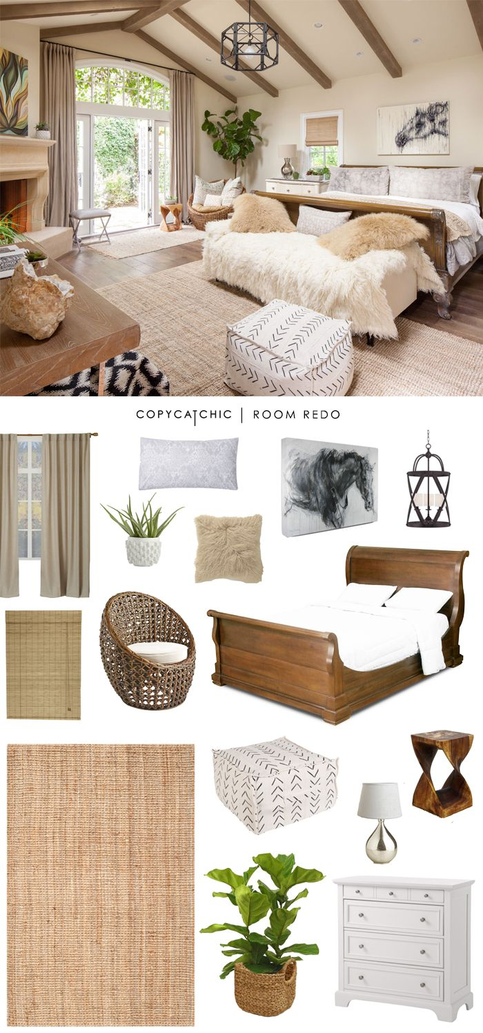 Copy Cat Chic Room Redo | Earthy
