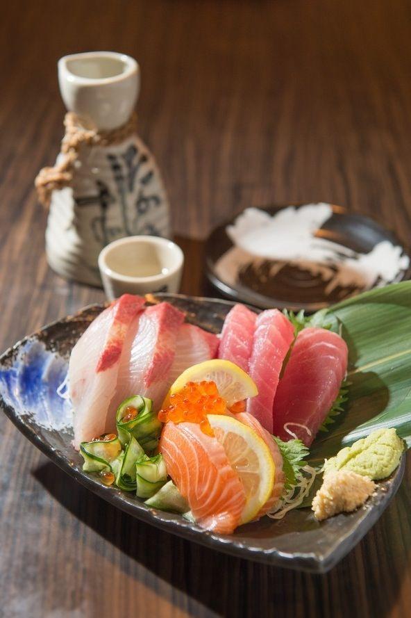 Un repas japonais .....