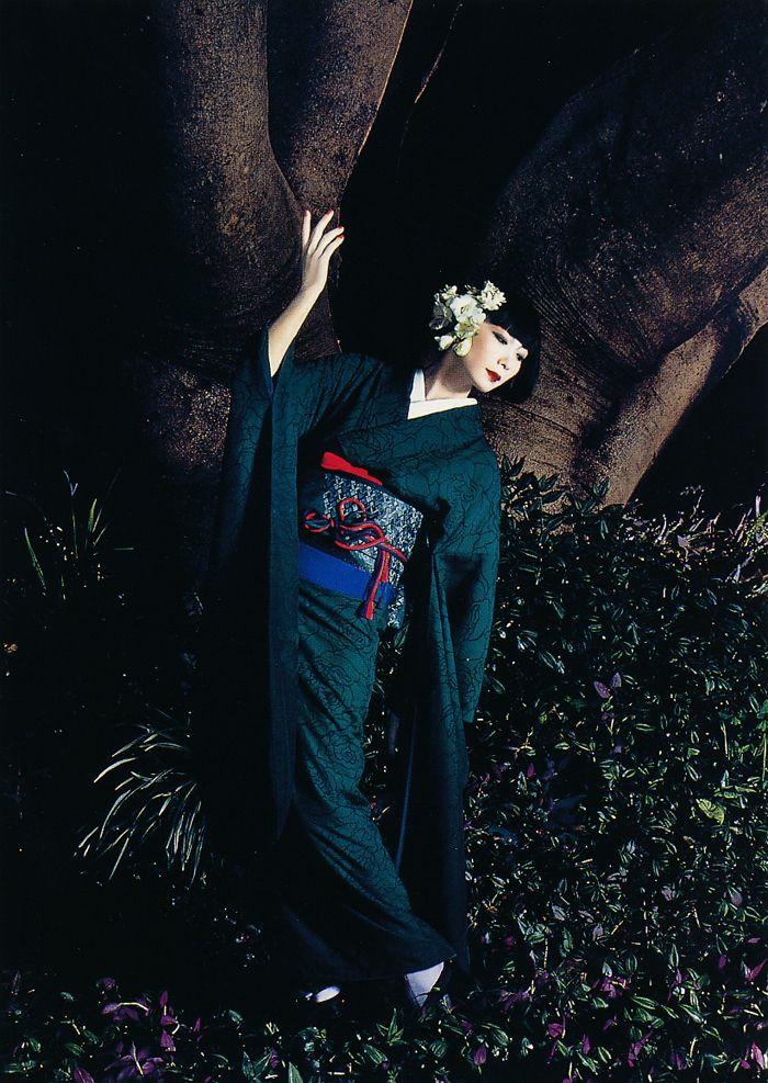 Sayoko Yamaguchi 山口小夜子 『そしてゆめ』1989