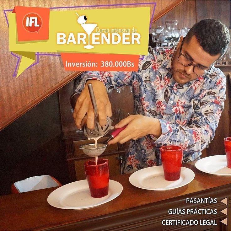 @bartenderintensivo Curso Intensivo de Bartender Certificado legal. Contenido: Guía práctica. Pasantías. Cómo trabajar en una barra o realizar un excelente servicio. Cocteleria nacional e internacional. Recetas. Próximas fechas 19 de noviembre / 4 domingos. 20 de noviembre / 4 semanas. Costo: 380.000bsF. Información: 0243-2419070 0412-8556784 0414-3445157 Correo: bartenderintensivo@gmail.com . .  #cursos #maracay #bartender