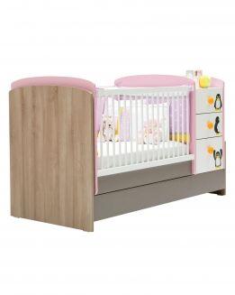 Кровать-трансформер без матраса Pink Peny NewJoy (НьюДжой)