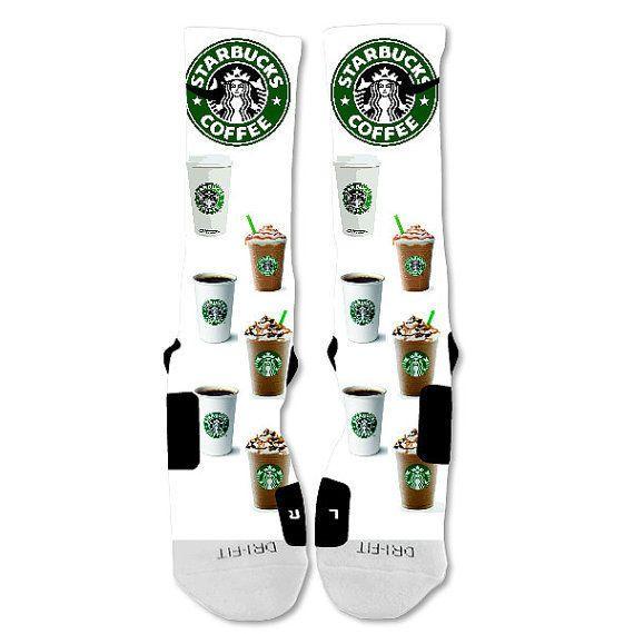 Nike Elite socks custom Starbucks #Nike #Athletic