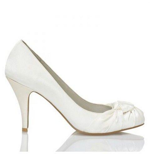 Svadobné topánky Menbur Rosa