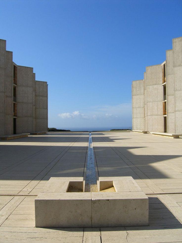Architect Louis Kahn: The Salk Institute, La Jolla, California, USA