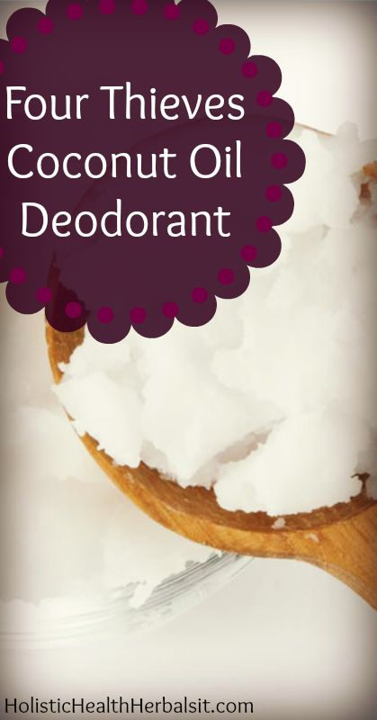 Four Thieves Coconut Oil Deodorant - Learn how to make this homemade deodorant that's perfectly scented for Fall. The best part? It works!
