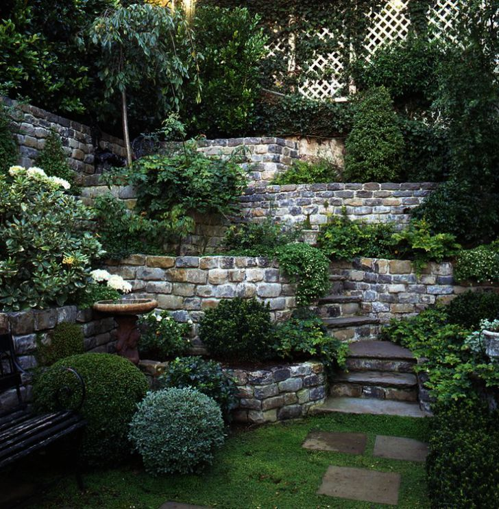 Landscape Gardening Plymouth Nor Landscaping Ideas For Backyard With Slope Backyard Hill Landscaping Backyard Garden Design Sloped Garden