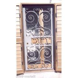 Wrought Iron Gate Door. Customize Realizations. 570