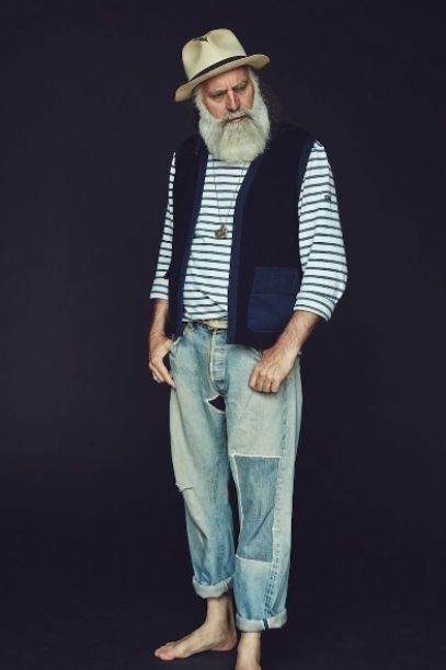 I want my husband to look like this when we get old....