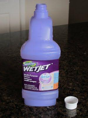 DIY Swiffer WetJet refills - use vinegar/water or Mr Clean Floor Cleaner to refillSwiffer Solutions, Floor Cleaners, Cleaning Solutions, Money Savers, Swiffer Wetjet, White Vinegar, Solutions Refill, Swiffer Refill, Diy Swiffer Wet Jet Solution