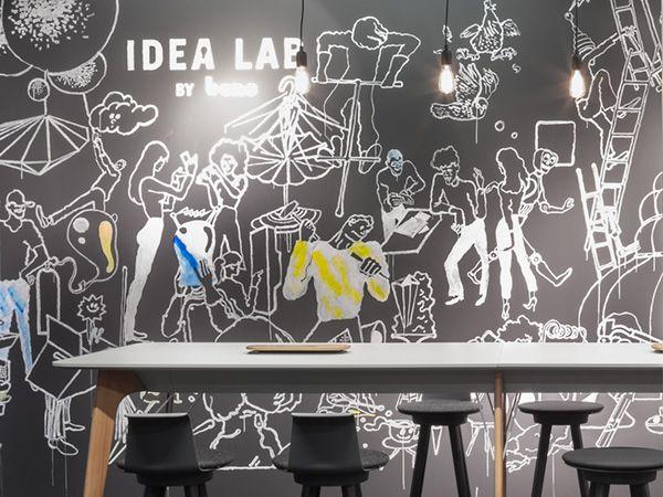 Inspirierendes Raumkonzept Für Zukunftsweisende Ideen Wir Von Bene Sind  überzeugt: Innovation Muss Kein Zufall Sein