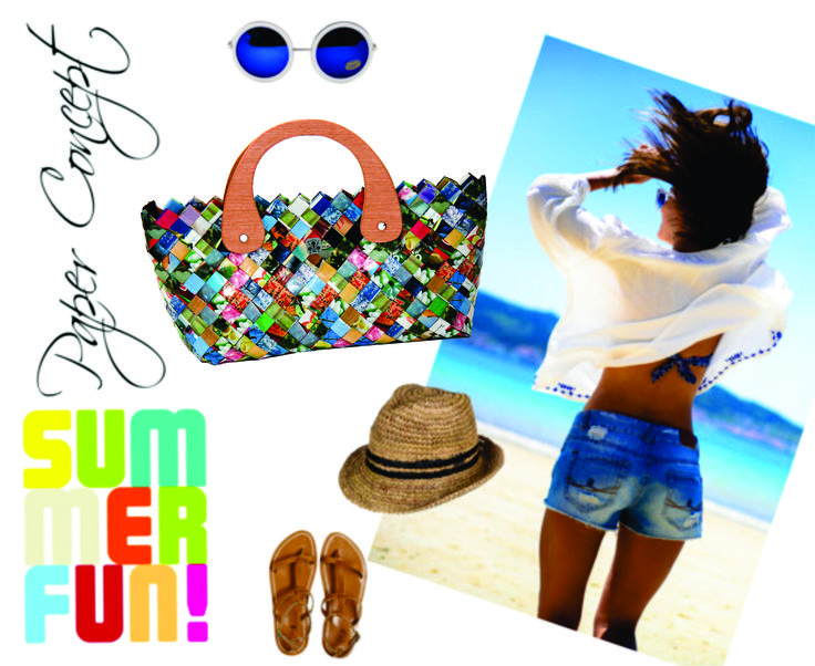 Bring the color to the summer outfit! Wear a Paper Concept bag <3