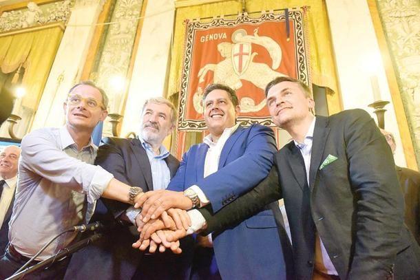 Giunta Bucci: ora viene fuori la vera destra, compatta solo nelle campagne elettorali. -