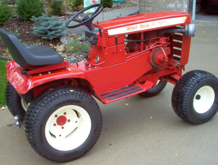 Custom Lawn Tractor Wheels : Best wheel horse images on pinterest old tractors