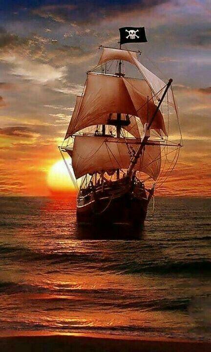 Segelschiffe auf dem meer sonnenuntergang  284 besten Black Flag Bilder auf Pinterest | Piratenschiffe ...