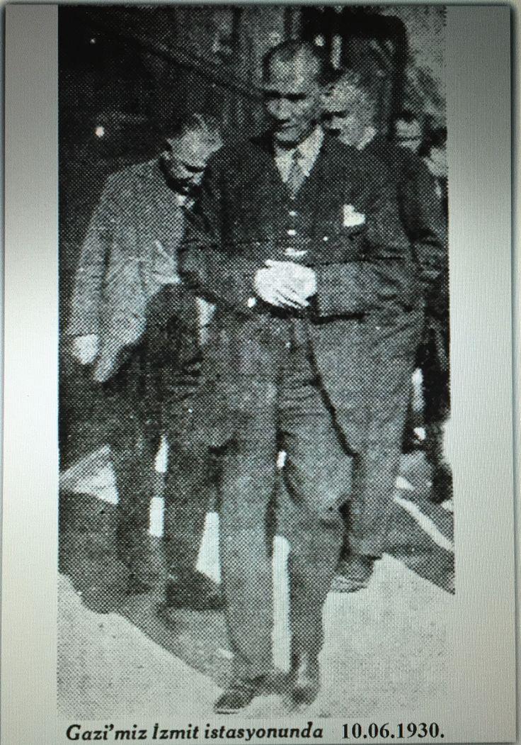 Atatürk 10.06.1930 İzmit