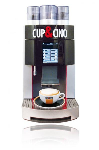 """PURA CI für 30-150 Tassen feinsten Premium-Kaffee pro Tag im Büro und danke """"Granulatte"""" ohne aufwendige Milchreinigung."""