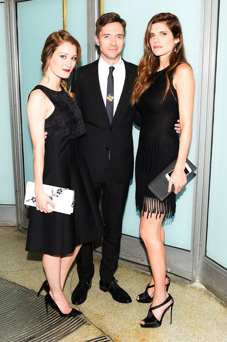 Ashley Hinshaw, Topher Grace, and Lake Bell