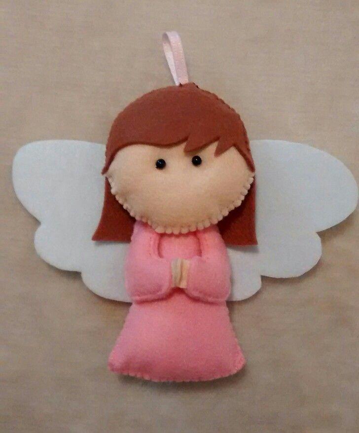 """angelito fieltro """"xfis protegeme mucho"""" preguntar precio, para bautizos,  comuniones o para ti!"""