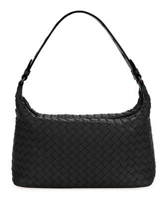 Small+Intrecciato+Hobo+Bag+by+Bottega+Veneta+at+Bergdorf+Goodman. a6b954be286f0