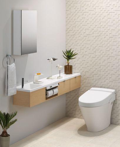 LIXIL | トイレ | トイレ手洗い | キャパシア | 施工イメージ | 0.75坪・手洗器一体型2