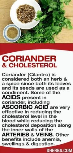 Coriander (Cilantro) is considered both an herb & a spice since both its leaves and its seeds are used as a condiment. Some of the acids present in coriander, including ascorbic acid are very effective in reducing the cholesterol level in the blood while reducing the cholesterol deposition along the inner walls of the arteries & veins. Other benefits include anemia, swellings & digestion. #dherbs #healthtips by R&M