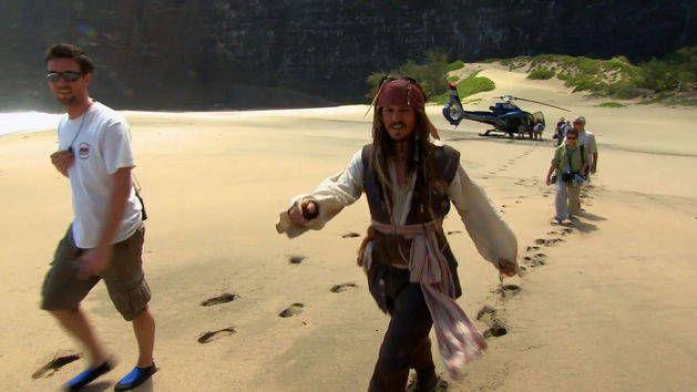 O primeiro dia - Piratas do Caribe 4: Navegando Em Aguas Misteriosas