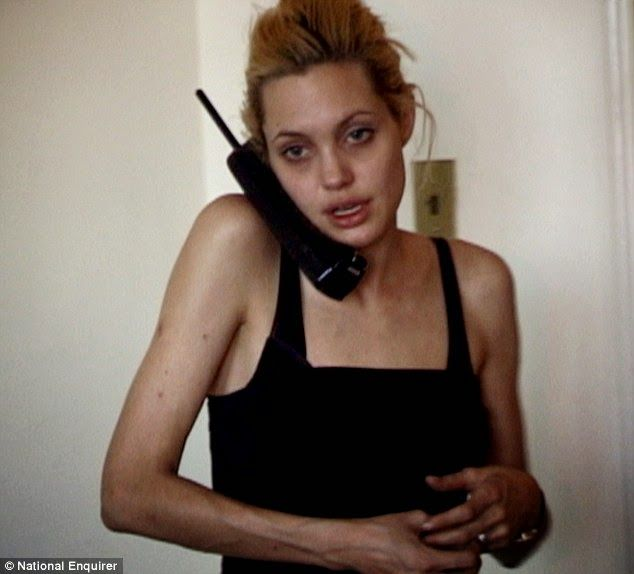 LASGIDI LIFE: Angelina Jolie And Her Heroin Addiction Exposed
