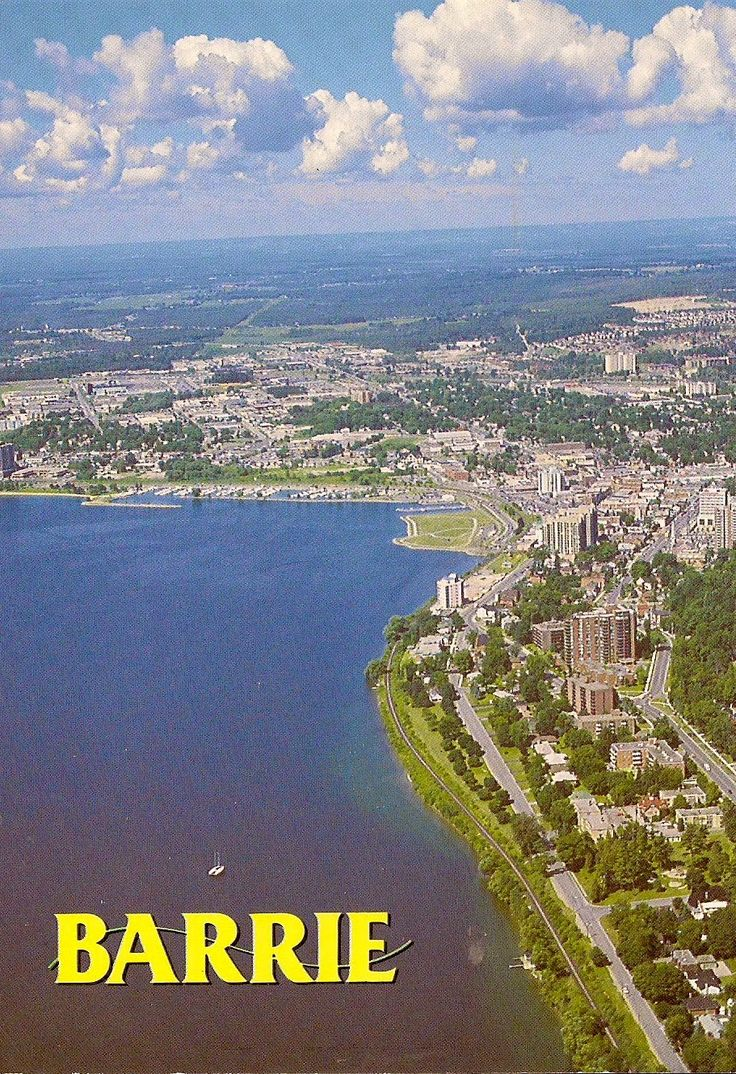 Travels with postcards around the world: BARRIE