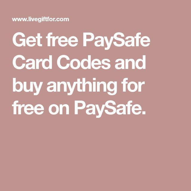 Gift Cards Paysafe