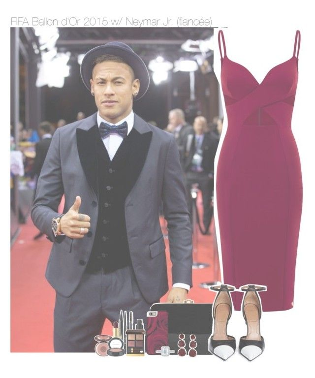 """FIFA Ballon d'Or 2015 w/ Neymar Jr. (fiancée)"" by erika-sads ❤ liked on Polyvore featuring Rocio, Givenchy, Casetify, Stila, Yves Saint Laurent, Tom Ford, Charlotte Tilbury, MAC Cosmetics, Annoushka and Tacori"