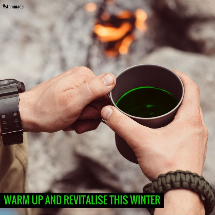Keep off the winter colds and coughs with some Staminade and hot water - the perfect way to warm up and revitalise! Learn more about how Staminade can help you on our website.