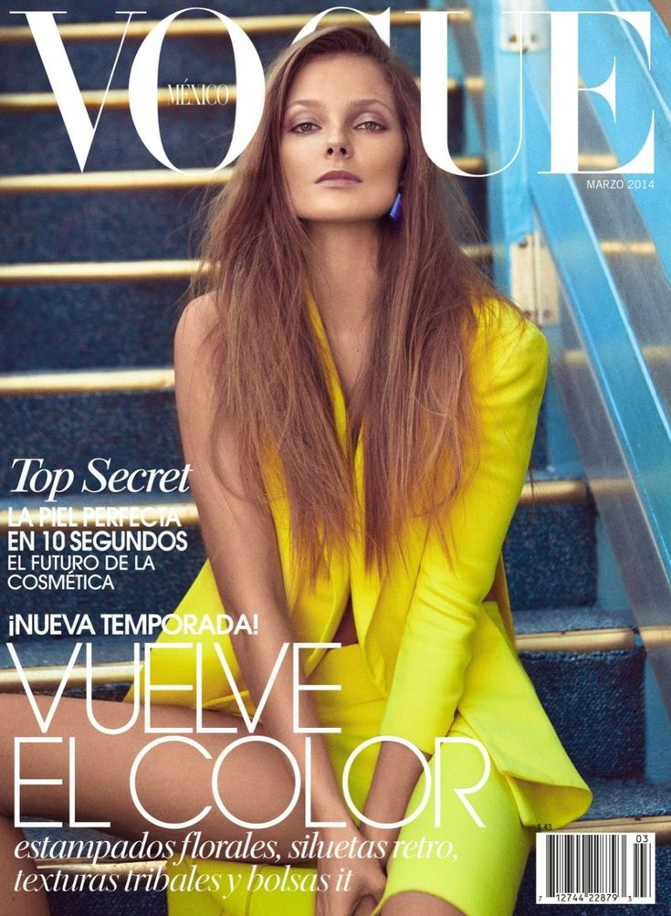 Vogue Mexico March 2014 Photographer: Koray Birand Stylist: Sarah Gore-Reeves Hair: Felix Fischer Makeup: Angie Parker Model: Eniko Mihalik