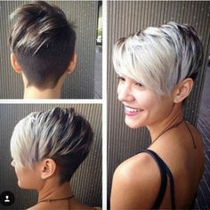 shaved back short hairstyles for 2016