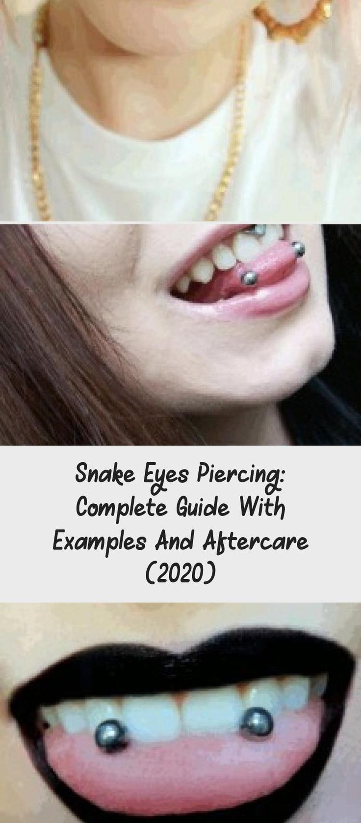 Snake Eyes Piercing: Complete Guide With Examples And ...