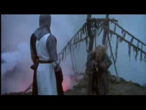 Monty Python - The Bridge of Death -- 3 Questions  http://www.youtube.com/watch?v=_7iXw9zZrLo
