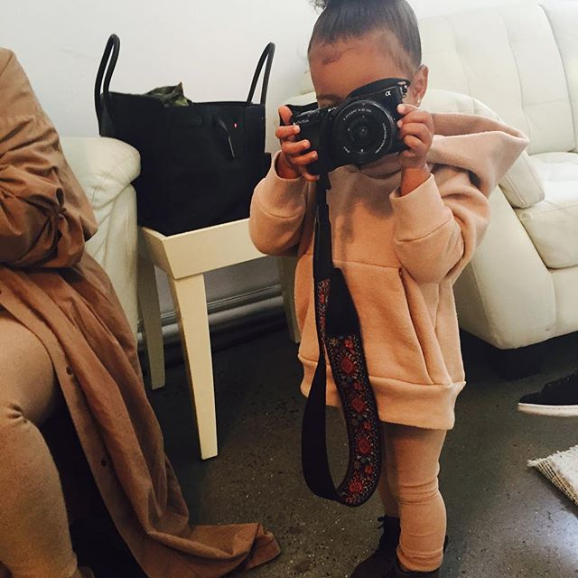 Pin for Later: Warning: You're Not Ready For These Adorable Snaps of Kim Kardashian and Kanye West's Kids