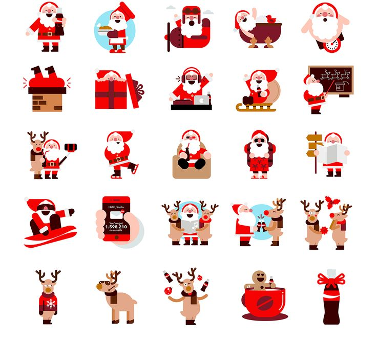 Coca-Cola Emoji project [We Are Social] on Behance