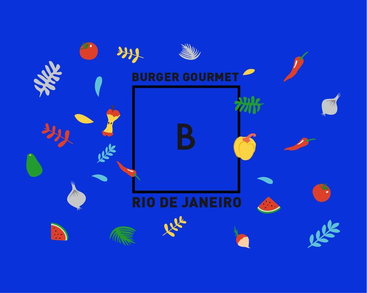 B - BURGER GOURMET on Behance